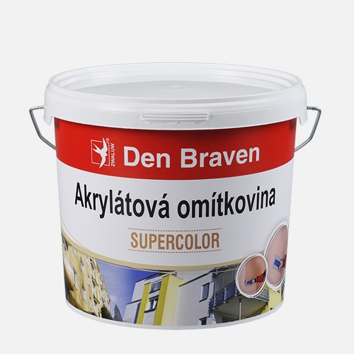 Akrylátová omítkovina drásaná (rýhovaná)