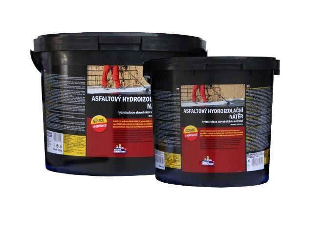 Asfaltový hydroizol. nátěr 5kg (ČS)