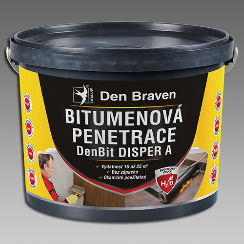 Bitumenová penetrace - DenBit DISPER A 5kg