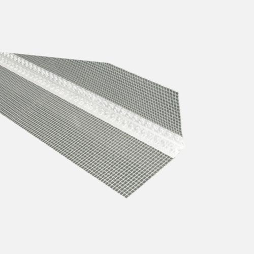 Kombi lišta rohová (PLAST) s tkaninou