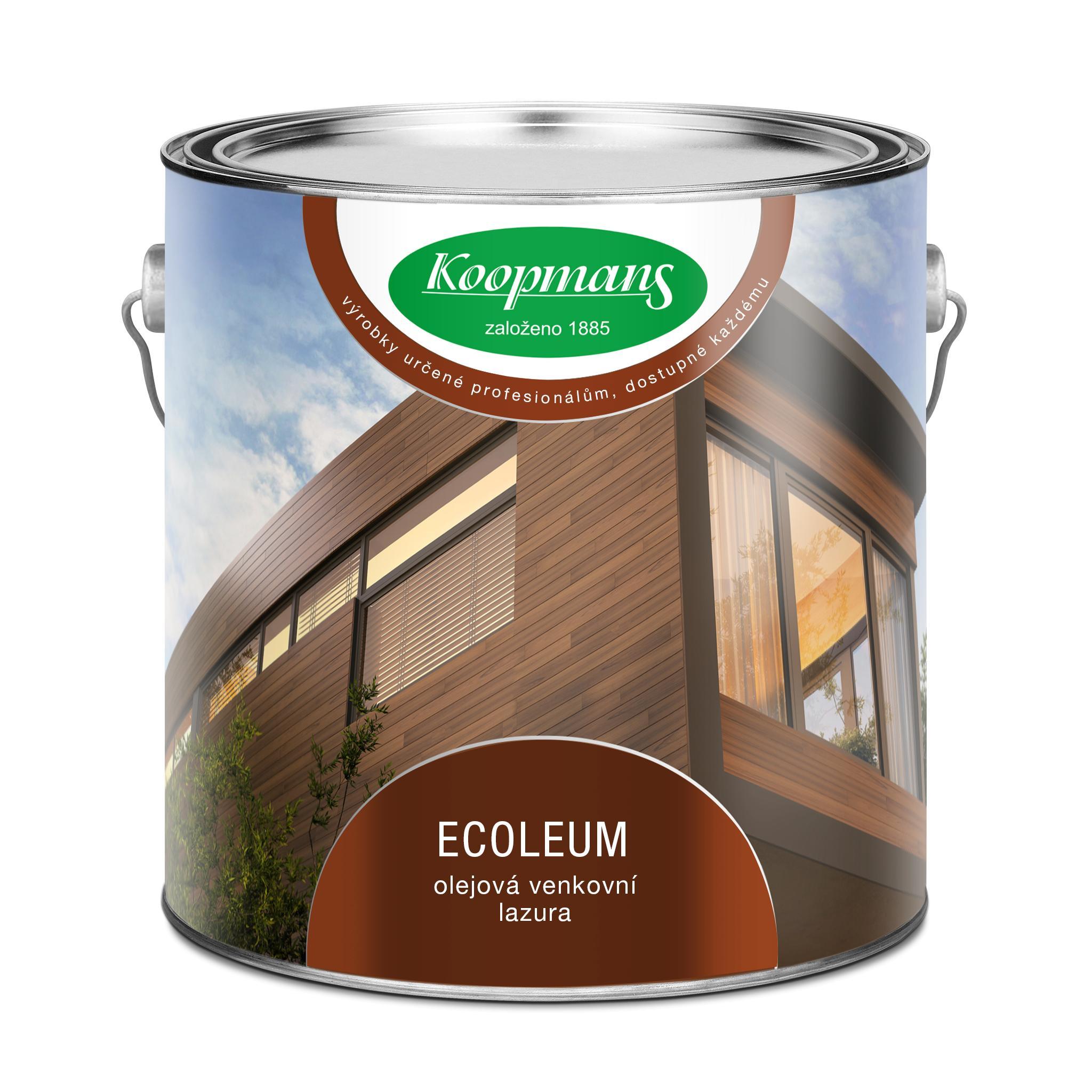 Koopmans ECOLEUM - olejová venkovní lazura
