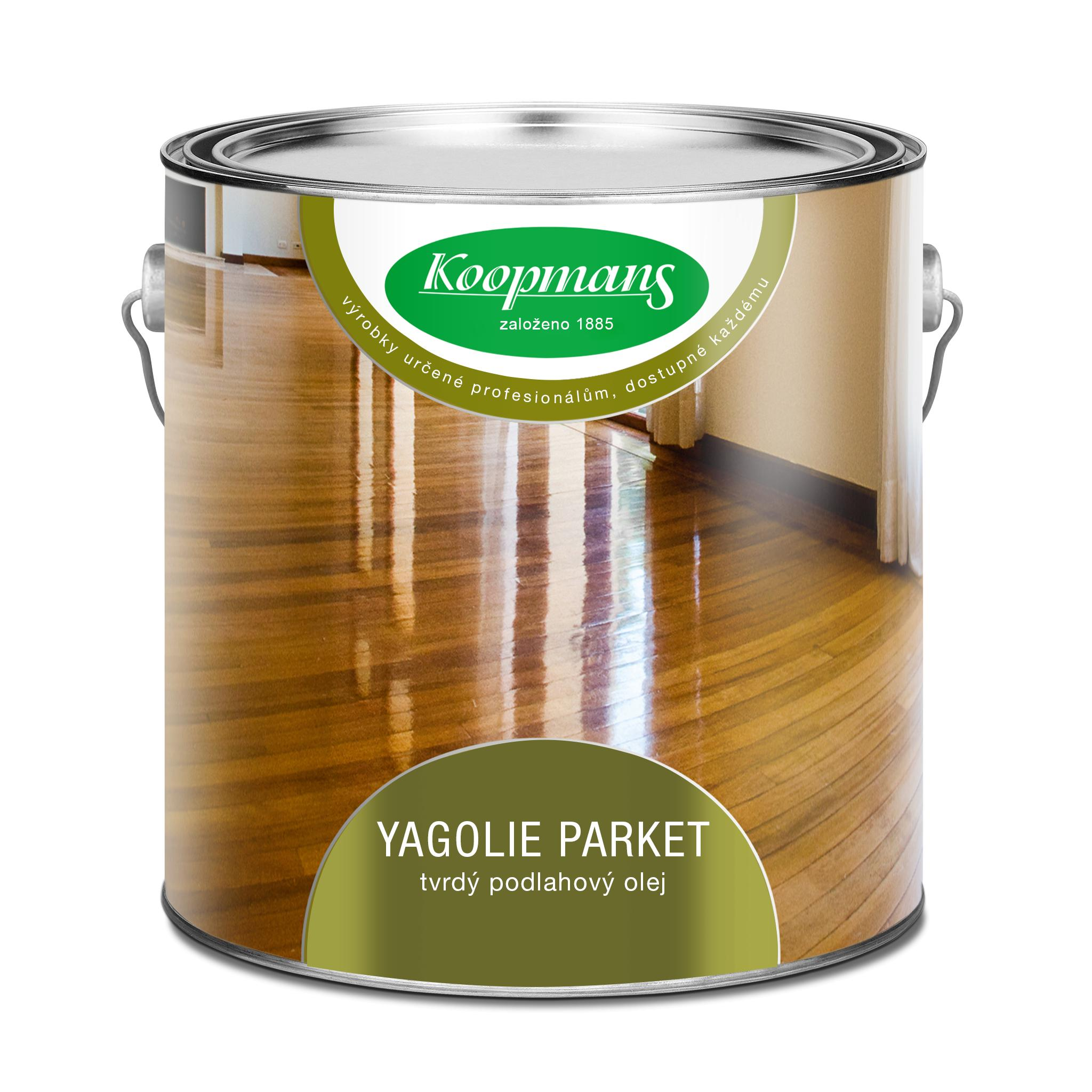 Koopmans YAGOLIE Parket - tvrdý podlahový olej