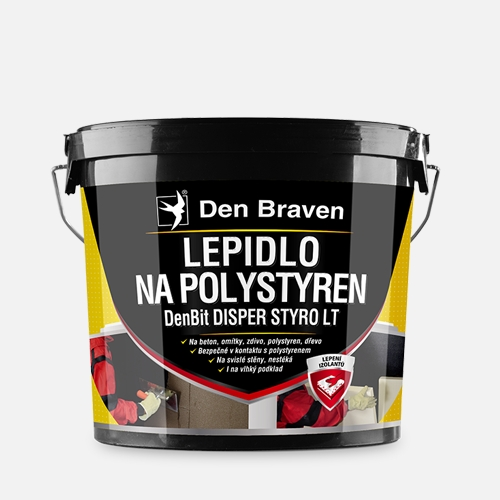 Lepidlo na polystyren - DenBit DISPER STYRO LT