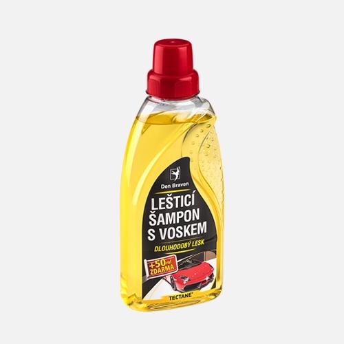 Leštící šampon s voskem