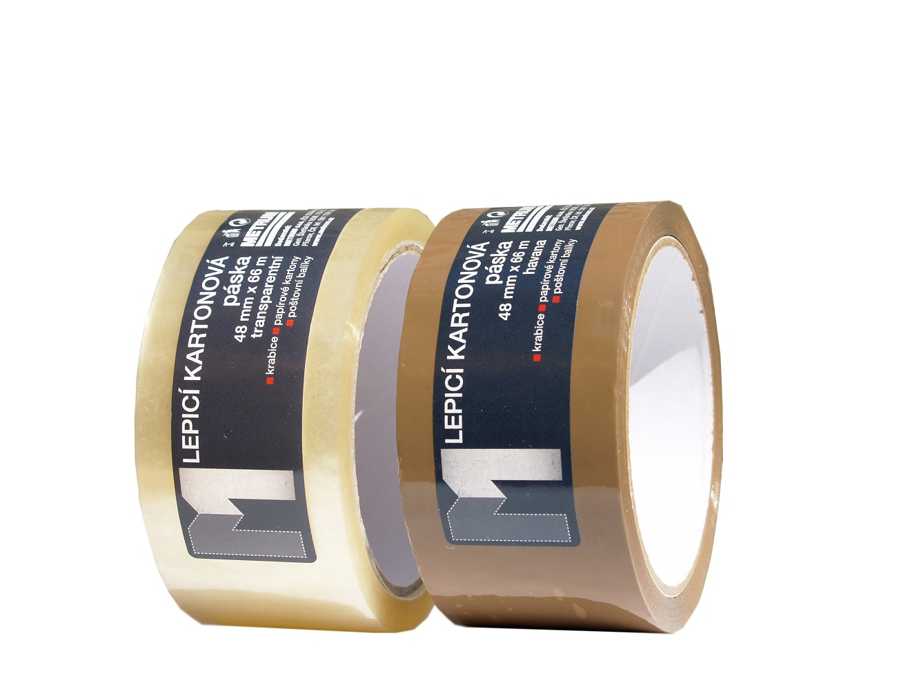 LOCKTAPE lepící páska kartonová 48mmx66m havana
