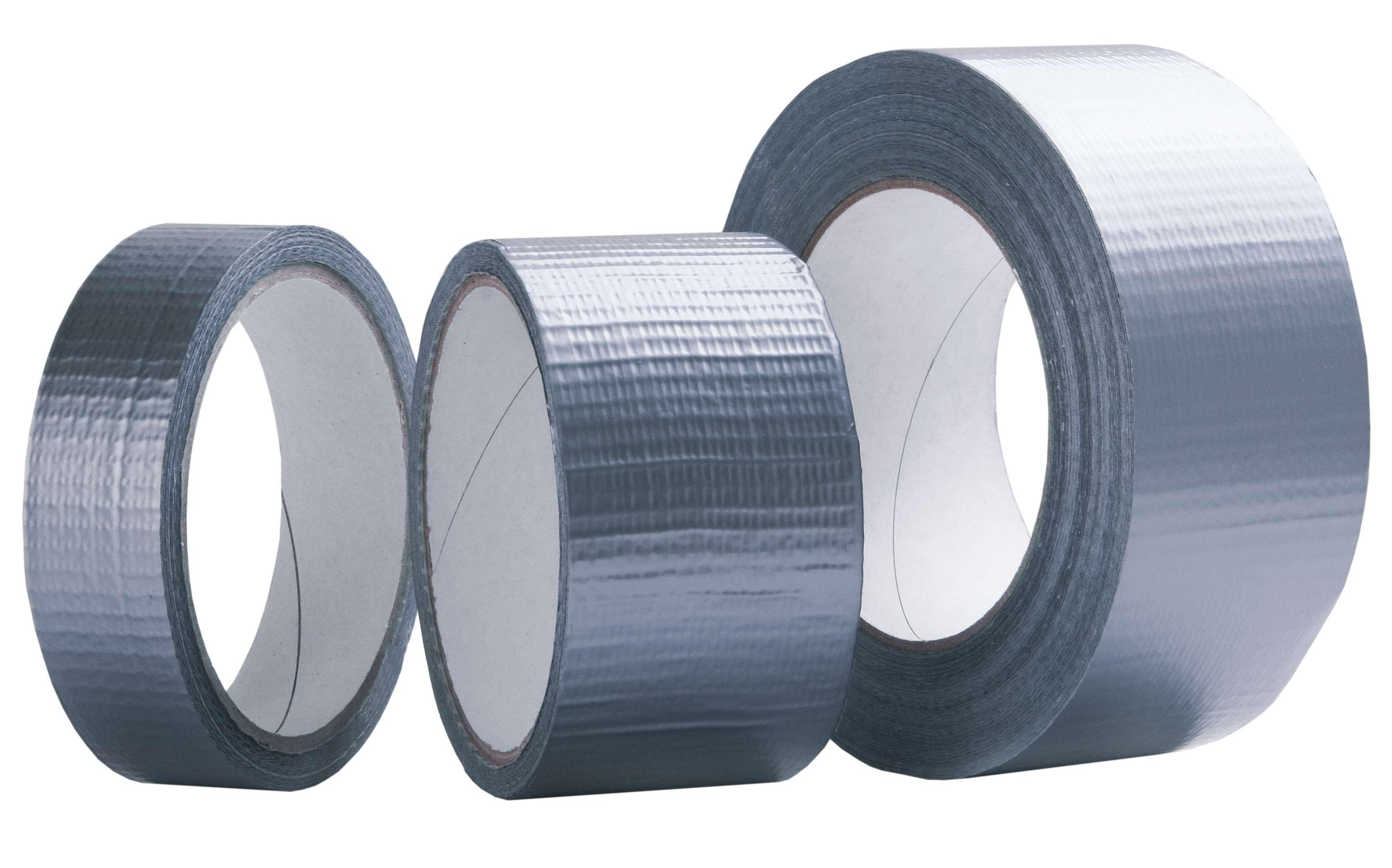 LOCKTAPE textilní stříbrná DUCT páska 48mmx50m