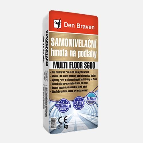 Samonivelační hmota na podlahy MULTI FLOOR S600
