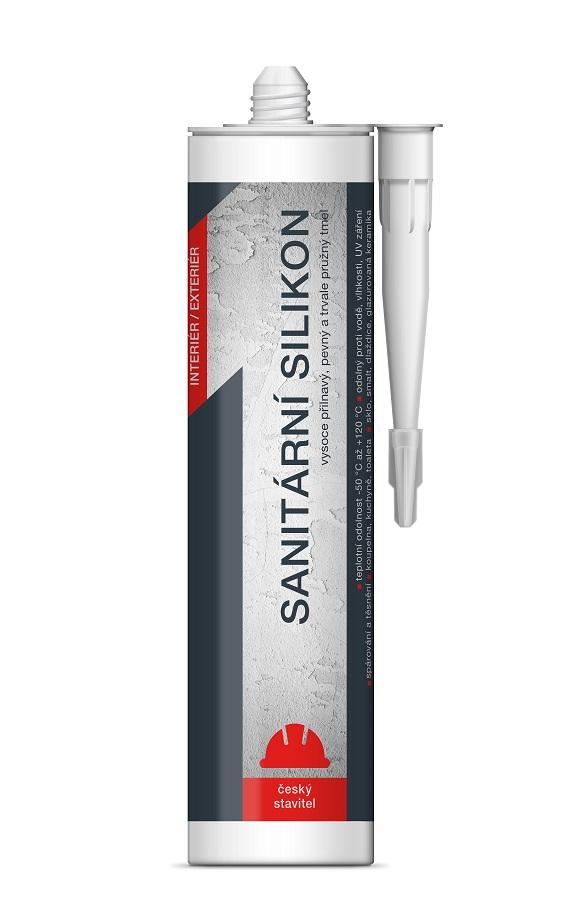 Sanitární silikon transp 310ml ČS