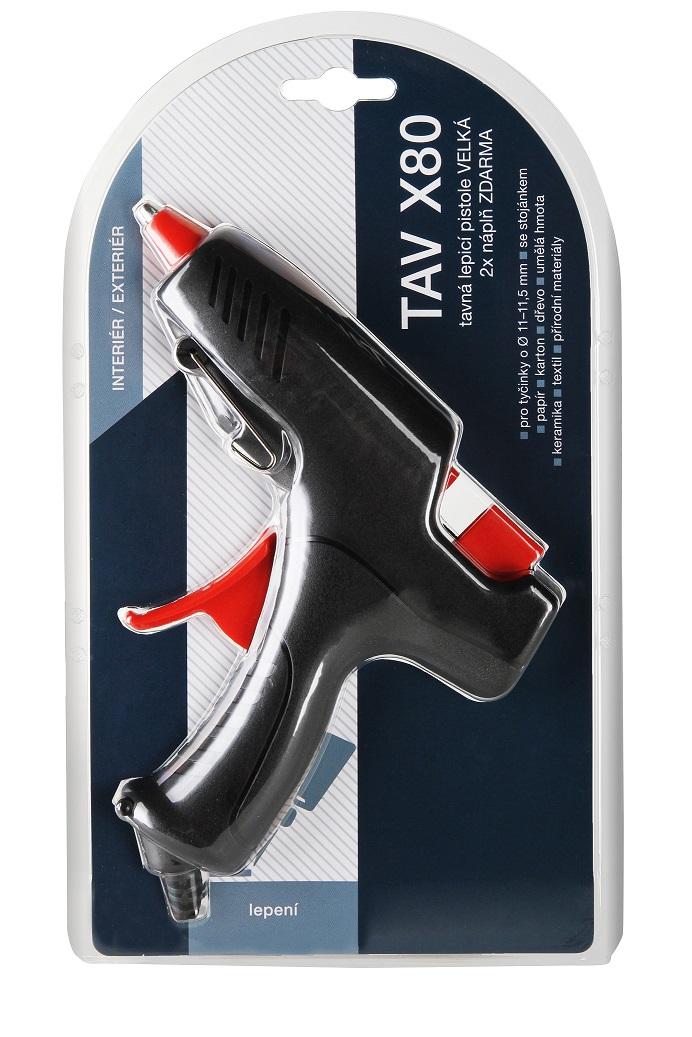 TAV X80 tavná lepicí pistole velká