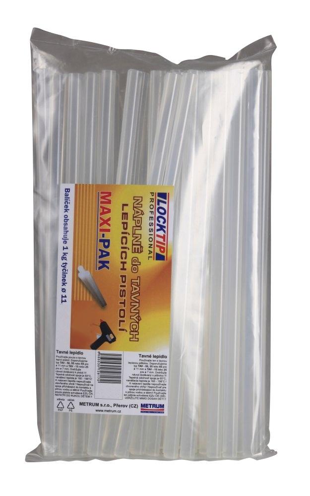 Tavné lepidlo LOCKTIP - MAXIPAK – LT112 (30cm) 1kg