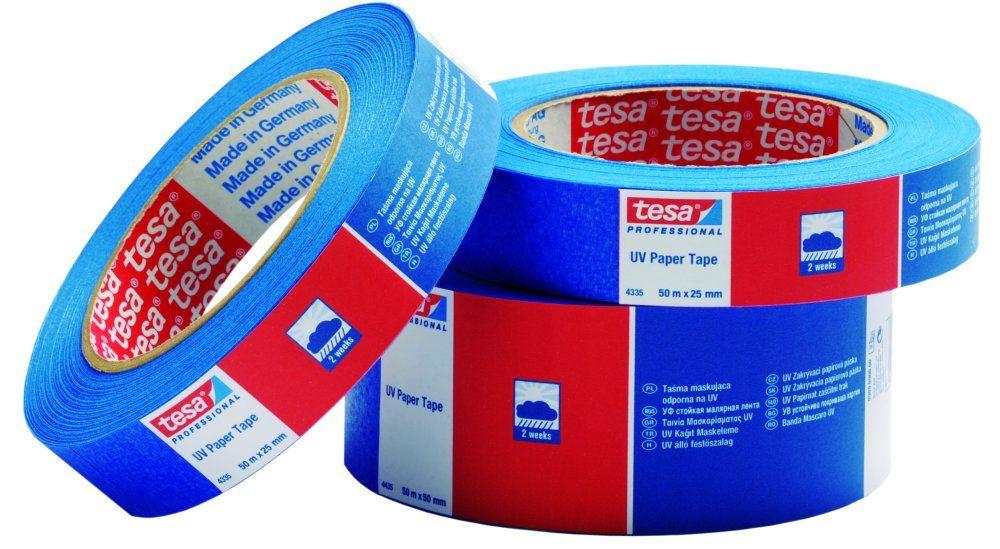 TESA páska 04437 - maskovací UV modrá