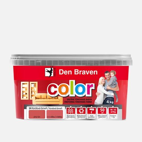 Vnitřní tónovací barva bílá čokoláda 4kg DB