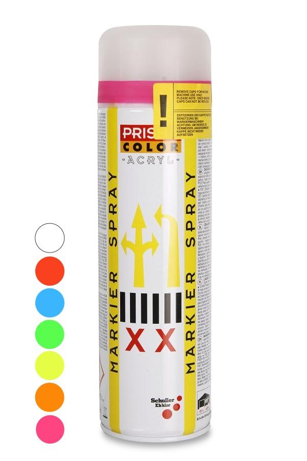 Značkovací sprej oranžová 500ml PRISMA COLOR