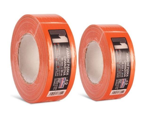 Fasádní páska oranžová
